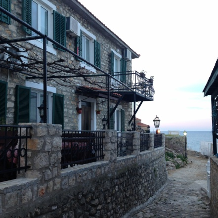 The home we stayed at in Ulcinj.